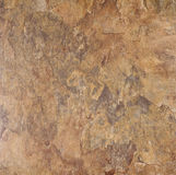 Brown slate background. Detail of brown rock slate background Stock Photography