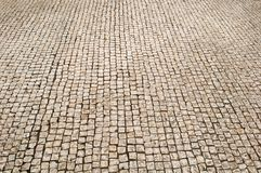 Brown Small Brick floor Royalty Free Stock Images