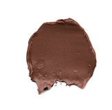 Brown smear paint of cosmetic products Royalty Free Stock Photography