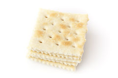 Brown Soda Crackers Royalty Free Stock Image