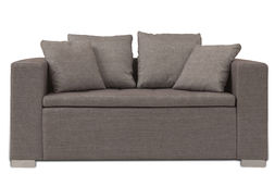 Brown Sofa Royalty Free Stock Image