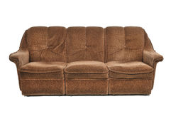 Brown-Sofa Stockbilder
