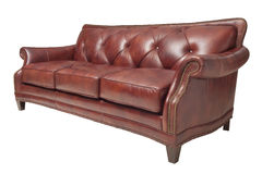 Brown sofa Royalty Free Stock Photo