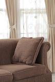Brown-Sofa Stockfotos