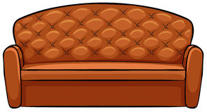 Brown Sofa Stock Photo