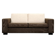 Brown sofa Royalty Free Stock Photography