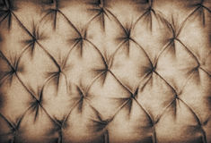 Brown sofa decor fabric Stock Photo