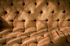 Brown sofa fabric background Royalty Free Stock Photo
