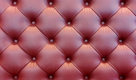 Brown sofa leather background Stock Image