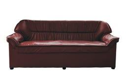 Brown sofa Royalty Free Stock Images