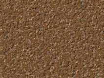 Brown soil ground texture Royalty Free Stock Images