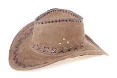 Brown sombrero isolated Royalty Free Stock Photography