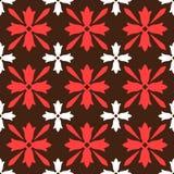 Brown spanish ornamental ceramic tile Stock Image