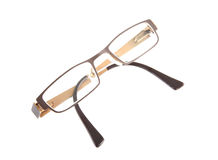 Brown spectacles Royalty Free Stock Photo