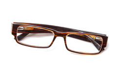 Brown spectacles Royalty Free Stock Photos