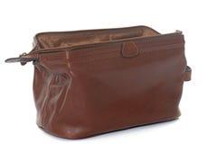 Brown sponge bag Royalty Free Stock Images