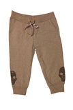 Brown sport trousers Stock Photography