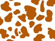 Brown Spotted Animal Skin Stock Image