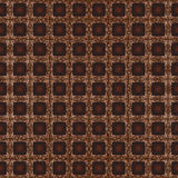 Brown square fabric Stock Image