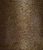 Brown Square Mosaics Bathroom Wall Tiles Texture Background. Pattern for Photo Studio Backdrop. Brown Square Mosaics Bathroom Wall Tiles Texture Background royalty free stock image
