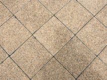 Brown Square Pavement. Stock Images