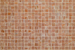 Brown square tiled background Royalty Free Stock Image