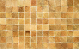 Brown square tiles pattern Stock Photos
