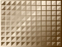 Brown squares Royalty Free Stock Images