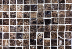 Brown Squares Tiles Art Royalty Free Stock Photography