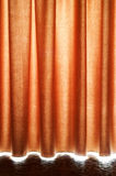 Brown Stage Curtain Royalty Free Stock Photography