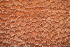Brown stara ściana, betonowy tło zdjęcie royalty free