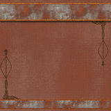 Brown steampunk background Royalty Free Stock Photos