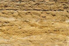 Brown-Steinbeschaffenheitshintergrund, Kalkstein, Wandbeschaffenheit, altes braunes Goldsteinwand, Steinwand, abstrakte Ansicht,  lizenzfreie stockfotografie