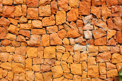 Brown ston wall background Stock Photography
