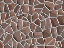 Brown stone background. Digital texture royalty free illustration