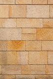 Brown Stone Blocks Wall Vertical Royalty Free Stock Photo