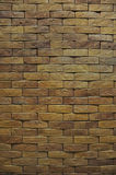 Brown stone brick background. And texture Royalty Free Stock Image