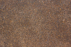 Brown stone gravel texture Royalty Free Stock Image