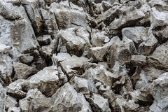 Brown Stone on the mountain Royalty Free Stock Photo