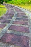 Brown Stone path Stock Photos