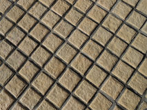 Brown Stone Pattern in Background Texture. Stock Photography