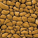 Brown stone seamless background Royalty Free Stock Photos