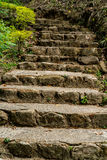 Brown stone stair Royalty Free Stock Photography