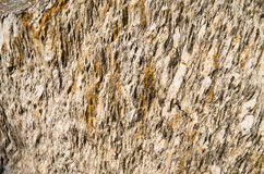 Brown stone texture. Close up of stone texture Royalty Free Stock Photography
