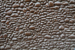 Brown stone wall Stock Photos