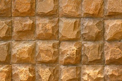 Brown stone wall background Stock Image