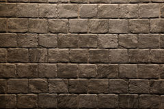 Brown stone wall texture background Stock Photography