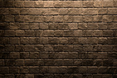 Brown stone wall texture background Stock Photos