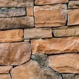 Brown Stone wall royalty free stock image