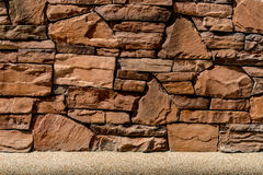 Brown Stone wall stock photos